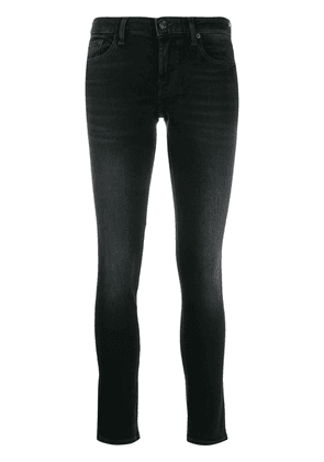7 For All Mankind Illusion Universe skinny jeans - Black