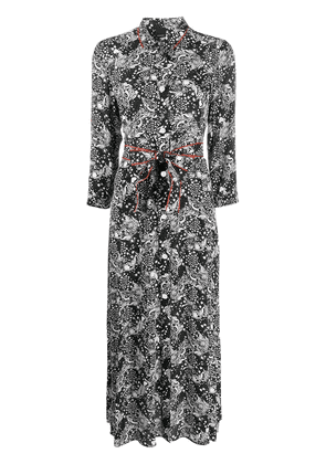 Pinko printed shirt dress - Black