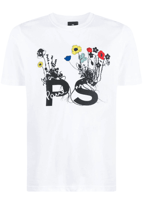 PS Paul Smith graphic-print T-shirt - White