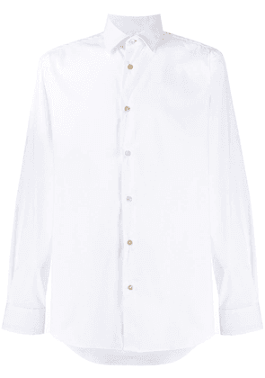 Paul Smith long-sleeve fitted shirt - White