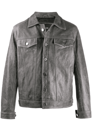 Blood Brother Haiko leather jacket - Grey