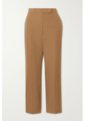 Max Mara - Wool Straight-leg Pants - Sand
