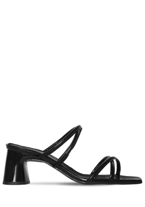 60mm Arena Patent Leather Sandals