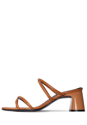 60mm Arena Leather Sandals