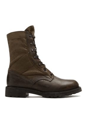 Belstaff Brown Trooper Boots