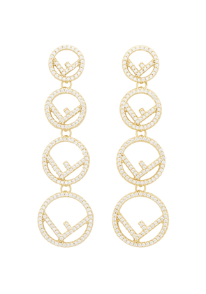 Fendi Gold F is Fendi Earrings