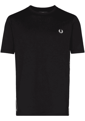 Fred Perry logo tape T-shirt - Black