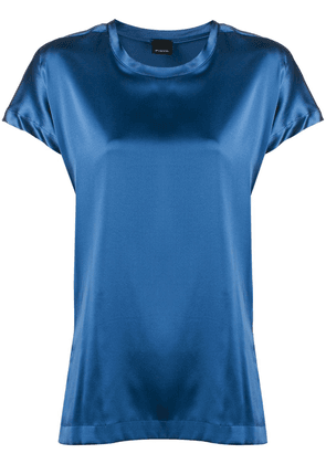 Pinko short sleeve stretch T-shirt - Blue