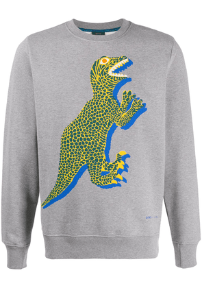 PS Paul Smith dinosaur print jumper - Grey
