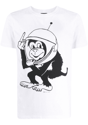 PS Paul Smith Space Monkey T-shirt - White