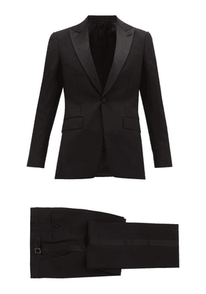Burberry - Mohair-blend Tuxedo - Mens - Black