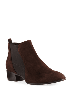 Falco Suede Gored Chelsea Booties