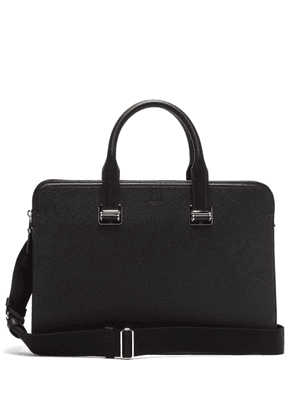 Dunhill - Cadogan Grained-leather Briefcase - Mens - Black