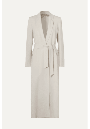 Max Mara - Stretch-wool Crepe Coat - Beige