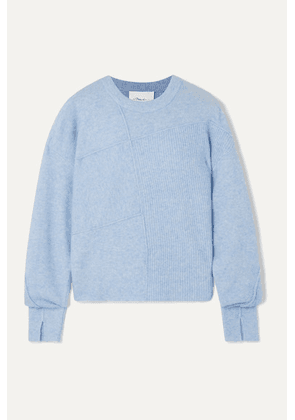 3.1 Phillip Lim - Lofty Mélange Knitted Sweater - Sky blue