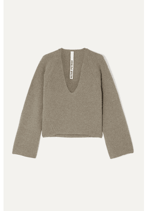 Petar Petrov - Kenne Ribbed Cashmere Sweater - Stone
