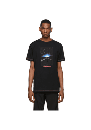Marcelo Burlon County of Milan Black Close Encounters Of The Third Kind Edition Highway T-Shirt