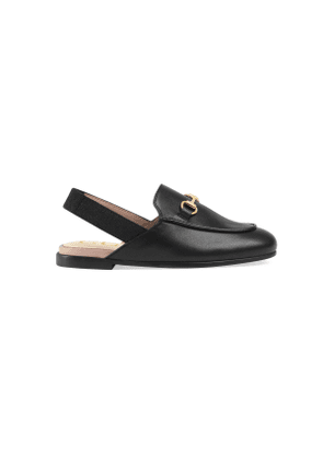 Toddler Princetown leather slipper
