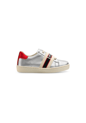 Toddler Ace sneaker with Gucci stripe