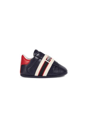 Baby Ace sneaker with Gucci stripe