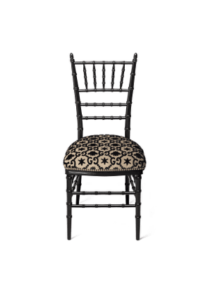 Chiavari chair with GG jacquard