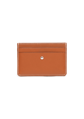 'Hex' leather card holder