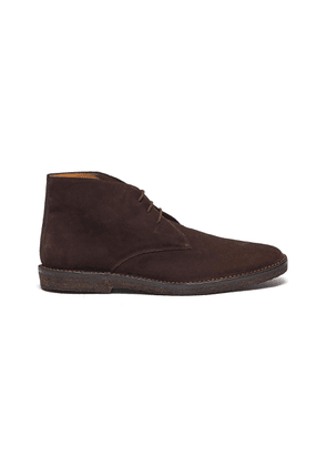Suede driving boots