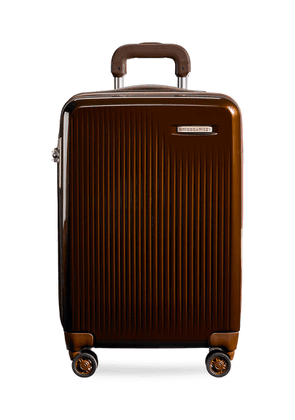 Sympatico carry-on expandable spinner suitcase - Bronze