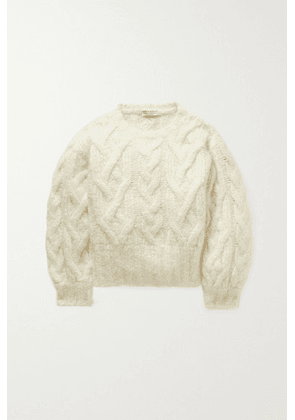 Brunello Cucinelli Kids - Cable-knit Cashmere-blend Sweater - Ivory