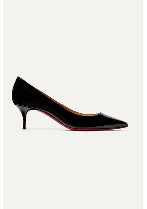 Christian Louboutin - Kate 55 Patent-leather Pumps - Black