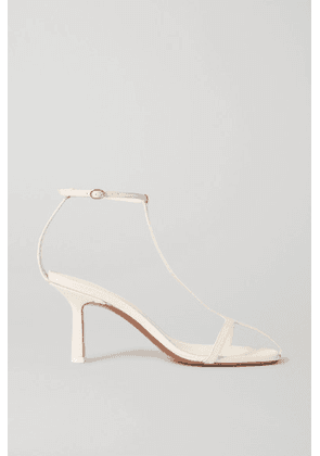 Neous - Jumel Leather Sandals - Cream