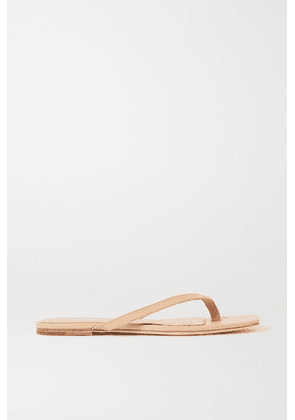 STUDIO AMELIA - 2.2 Leather Flip Flops - Neutral