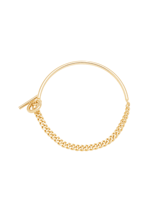 FALLON Curb Chain Gold-Plated Necklace