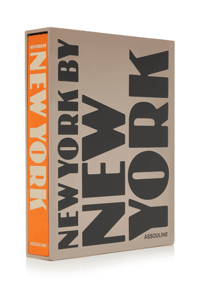Assouline Exclusive New York By New York Signed Hardcover Book