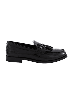 Tod's x Alber Elbaz patent leather loafers