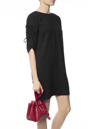 Alaia 'Rose-Marie' Perforated Shoulder Bag Women's Red