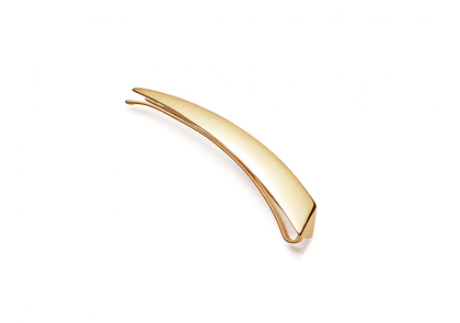 Gold Claw Hair Clip - Gold Plated Brass