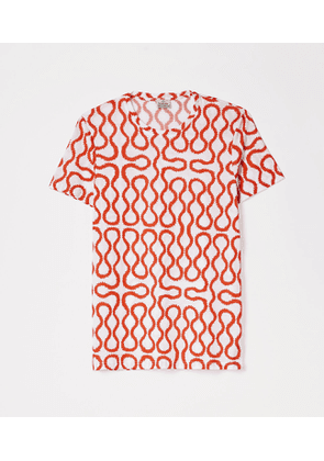Squiggle Jersey White/Red