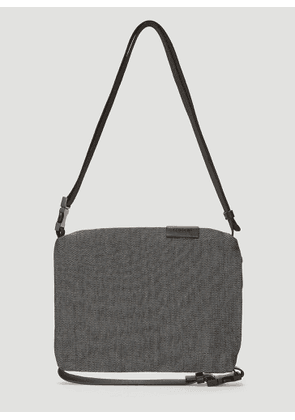 Cote & Ciel Inn Small Coated Canvas Cross Body Bag in Grey size One Size