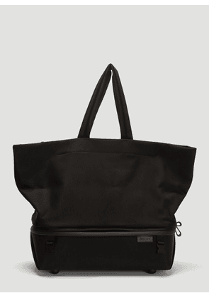 Cote & Ciel Amu Coated Canvas Tote Bag in Black size One Size