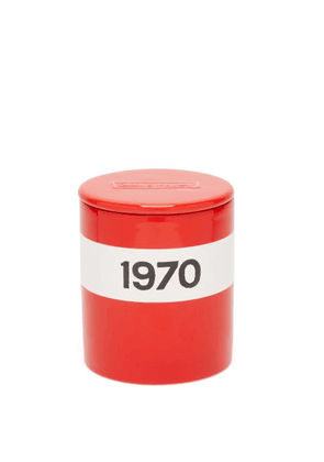 Bella Freud - 1970 Large Scented Candle - Red