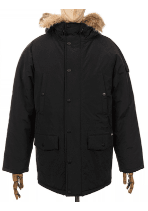 Carhartt WIP Anchorage Parka Jacket - Black Size: X Small, Colour: Bla