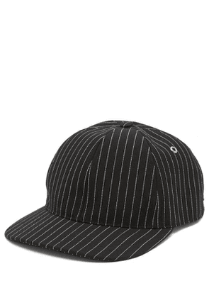 Pinstripe Logo Patch Cap