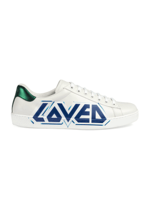 Men's Ace sneaker with Loved print