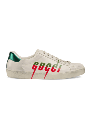 Men's Ace sneaker with Gucci Blade