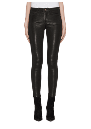'Le Skinny' leather pants