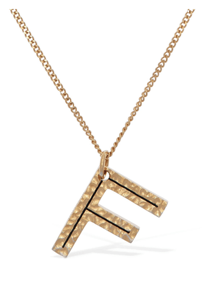 Letter 'f' Charm Necklace