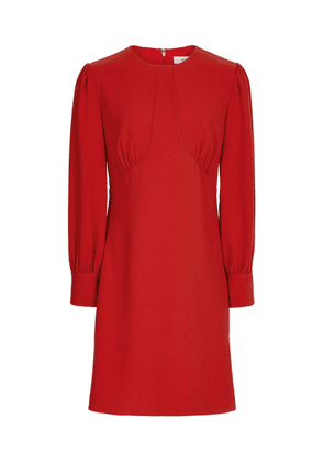 Reiss Analise - Seam Detail Crepe Dress in Red, Womens, Size 4