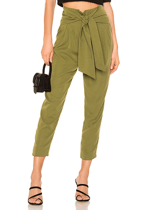 House of Harlow 1960 x REVOLVE Leland Pant in Olive. Size L.