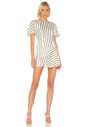 House of Harlow 1960 X REVOLVE Calvin Dress in Ivory. Size XL.